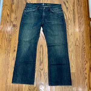 7 for all Mankind Men's Bootcut Jeans. Size 34